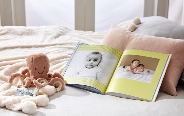 baby photo book